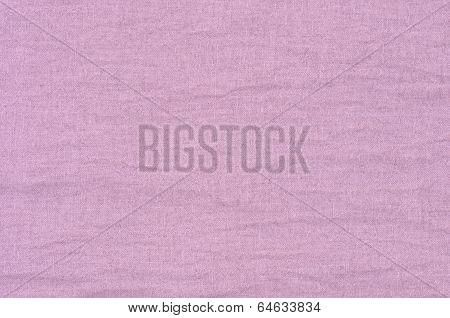 Close Up Pink Linen Texture Background