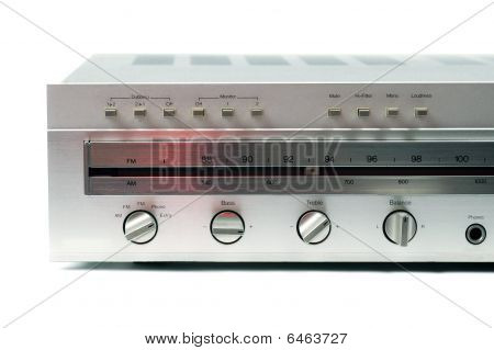 Silver Analog Receiver