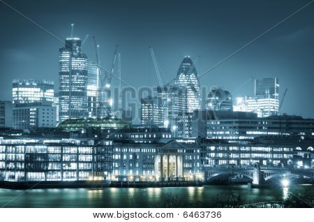 Skyline City of London.