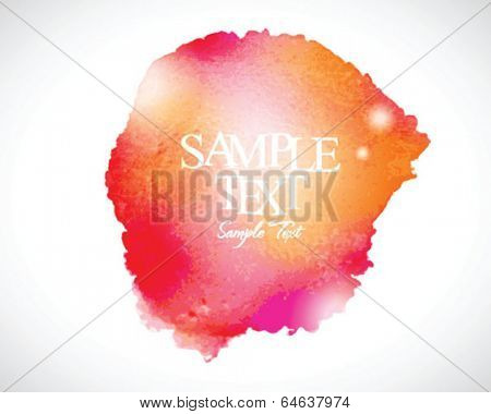 Abstract stylish watercolor background 02