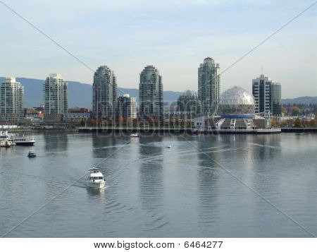 Vancouver's Science Center and False Creek