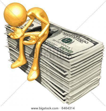 Gold Guy Money Problems
