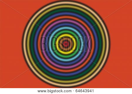 circular multi colour wallpaper