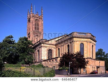 Cathedral, Derby, England.