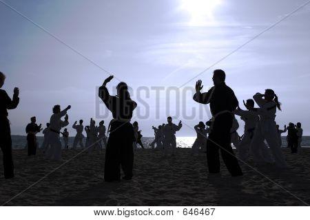 Tai Chi Beach I