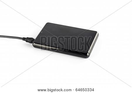 Black External Harddisk