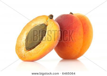 Apricot and halve