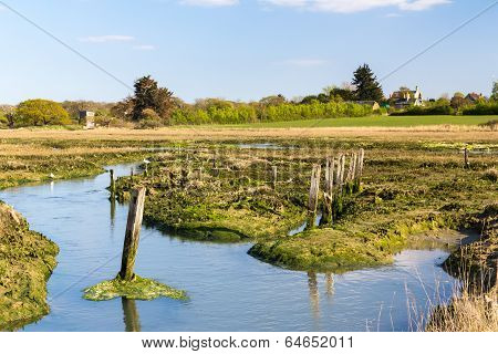 Newtown Harbour National Nature Reserve Isle Of Wight England