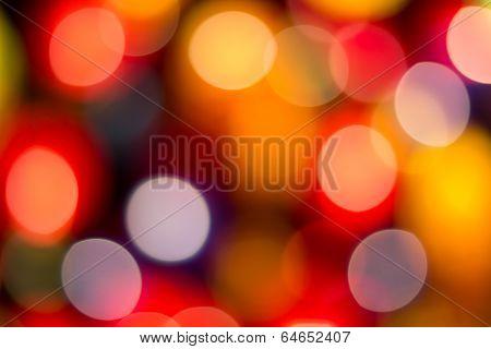 Colorful Lantern Bokeh