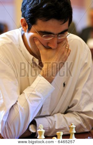 Russian Chess Grandmaster, Vladimir Kramnik