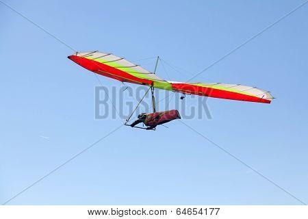 Hang Glider Flying
