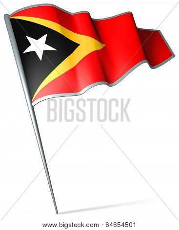 Flag Of East Timor