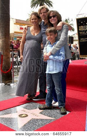 LOS ANGELES - MAY 5:  Sally Field, her son Eli Craig at the Sally Field Hollywood Walk of Fame Star Ceremony at Hollywood Wax Museum on May 5, 2014 in Los Angeles, CA