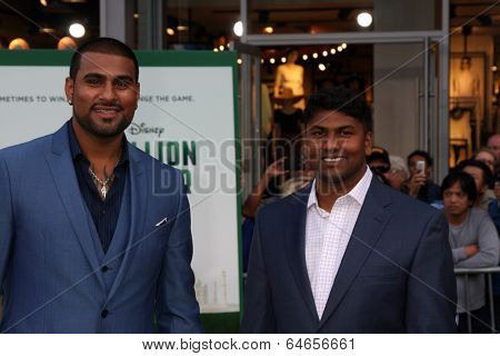 LOS ANGELES - MAY 6:  Rinku Singh, Dinesh Patel at the