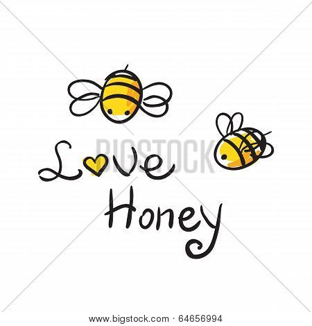 Bee Love honey