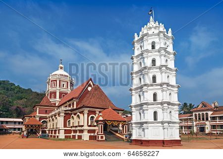 Hindu Temple In Ponda,