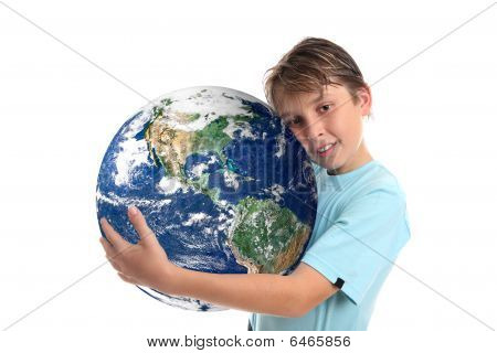Love And Care For Our World Planet Earth