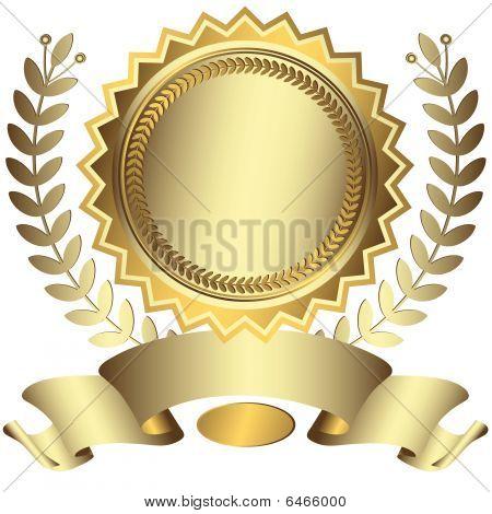 silbrig Award mit Multifunktionsleiste (Vector)
