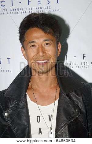 HOLLYWOOD, MAY 6: James Kyson arrives for the post party after opening night of Sci-Fest at the ACME Theatre in Hollywood, CA on May 6, 2014.