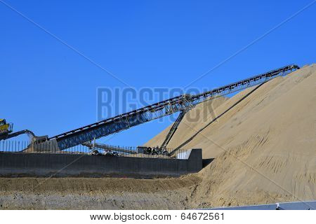 Crushed Material Mound