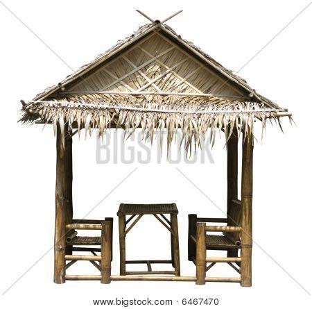 Palm summerhouse