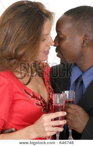 Romantic Couple Celebrating 3