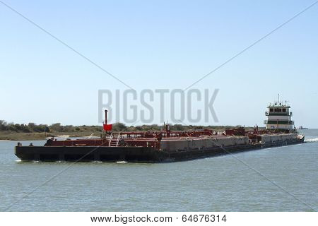 Oil and Gas Support Barge