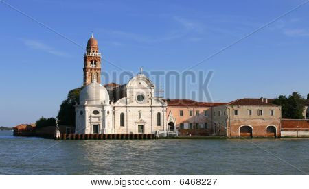 Church on the Grand Canal in Venice, Italy