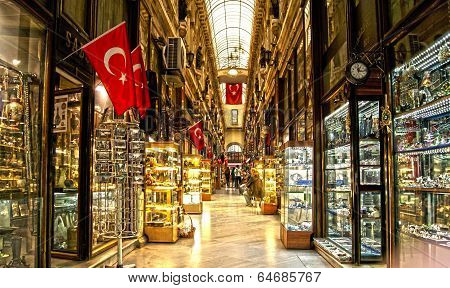 Lux bazaar in Turkey