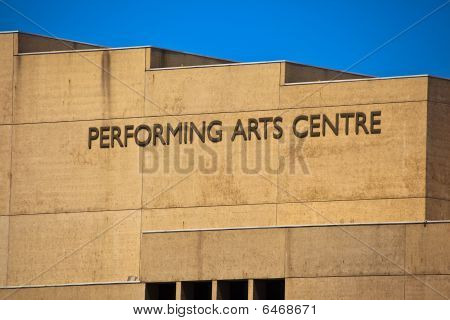 Sign on City  Performing Arts Center In Brisbane, Australia