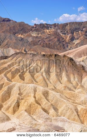 Ridges in the Desert