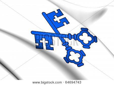 Flag Of Wangen An Der Aare