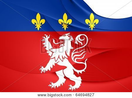 Flag Of Lyon