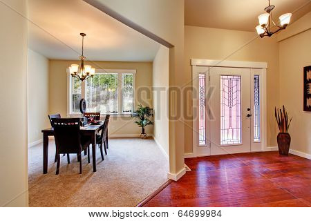 House Interior. Open Floor Plan