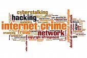 stock photo of malware  - Internet crime  - JPG