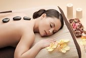 picture of stone-therapy  - health and beauty - JPG