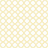 picture of clover  - Traditional quatrefoil lattice pattern - JPG