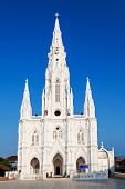 foto of kanyakumari  - Catholic Church in KanyakumariTamil Nadu Southern India - JPG
