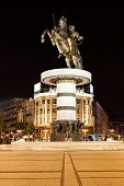 pic of great horse  - Warrior on a Horse statue  - JPG