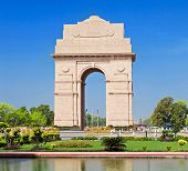picture of india gate  - India Gate - JPG
