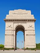 stock photo of india gate  - India Gate - JPG