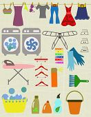 stock photo of laundry  - laundry items - JPG