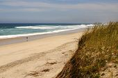 pic of vilamoura  - Beach on Atlantic Ocean Coast in near Furadouro Portugal - JPG