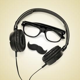 stock photo of snob  - a pair of glasses - JPG