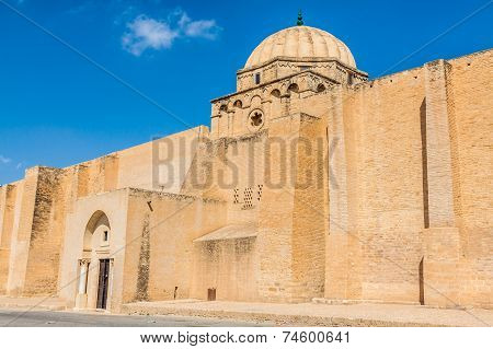 The Great Mosque Of Kairouan In Tunisia