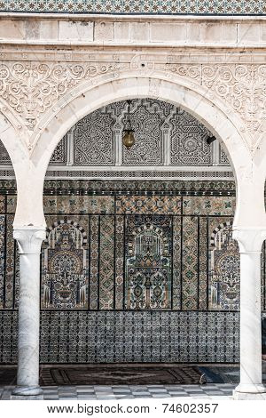 The Great Mosque Of Kairouan, Tunisia, Africa
