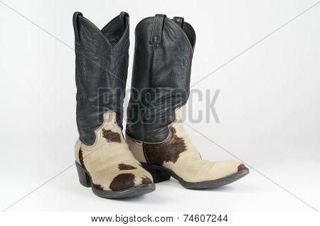 Cow Hide Cowboy Boots