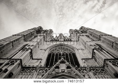 St.Michael cathedral in Bruxelles, Belgium