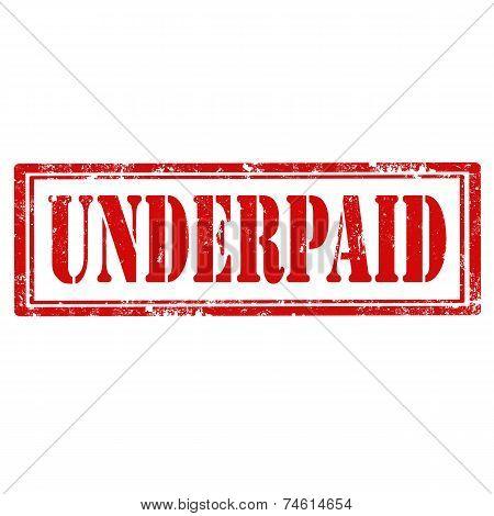 Underpaid-stamp