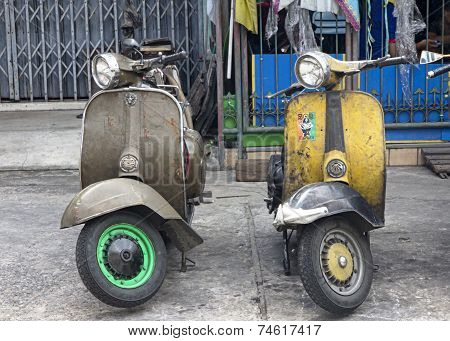 Old Scooters